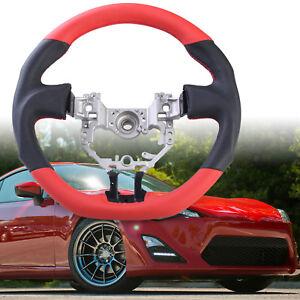 3-Spoke Sport Steering Wheel Leather for Scion FR-S Subaru BRZ Toyota GT86