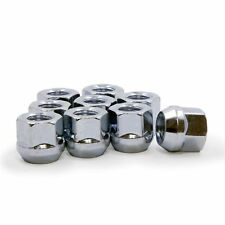 32 Lug Nuts Open End Bulge Acorn 14x1.5 Zinc HEAVY DUTY