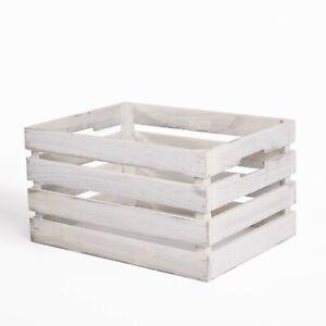 Wooden Fruit Apple Crate Shelf Basket Storage Box Shop Display Christmas Hampers