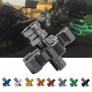 Autobike Motorcycle CNC Adjuster Cable Clutch Brake Screw M8/M10 Thread Bolt ST