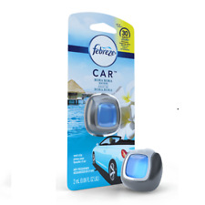 (Pack of 4) Febreze Car Air Freshener - Bora Bora Waters - 2 ml