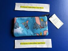 Loungefly Dumbo Zip Pouch Dumbo Flying Print Cosmetic/Coin Bag/Case Disn 00004000 ey New!