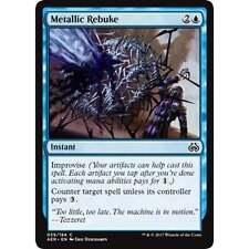 4x MTG Metallic Rebuke NM - Aether Revolt