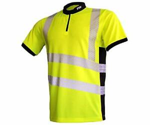 STEIN X25 Ventout Hi-Viz Short Sleeve T-Shirt Yellow EXTRA LARGE FREE DELIVERY