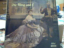 THE KING AND I SOUNDTRACK CAPITOL VINYL LP HELLO YOUNG LOVERS SHALL WE DANCE