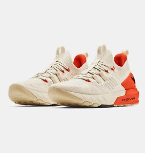 2021 Under Armour Men's UA Project Rock 3 Training Shoes Dwayne Johnson Orange