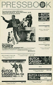 BUTCH CASSIDY AND THE SUNDANCE KID • 1969 • Unfolded, Complete • Newman, Redford
