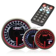 Prosport 52mm Air / Fuel Ratio Gauge Smoked Stepper with Remote