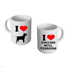 I Love English Bull Terriers Mug EBT Owners Mug XCMN108