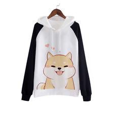 Japanese Doge Kawaii Muco Sweatshirts Pullovers Harajuku Cute Fleece Hoodies