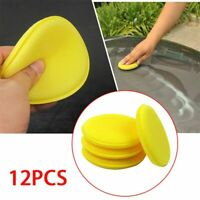 12Pcs/Set Car Waxing Foam Sponge Polish Applicator Cleaning Detailing  Pads