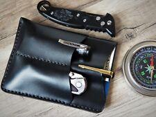 Leather EDC Wallet EDC pocket organizer edc organizer pocket organiser travel