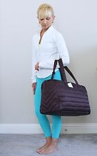 NWT Lululemon Get Lost Duffel Gym Yoga Bag Black Cherry