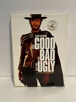 THE GOOD THE BAD AND THE UGLY DVD 2004 2-Disc Set Collectors Ed Posters, Booklet