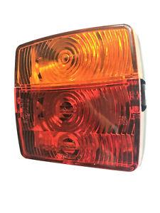 Rückleuchte Blinker Positiosleuchte E20 Anhänger LKW Traktor mit 24V Glühbirnen