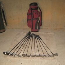 Top Flite XL 2000 irons & Eclipse 400 drivers, RH 13 pc golf club set with bag