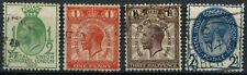 GB KGV 1929 SG#434-437 UPU Congress PUC Used Set Of 4 #D79542
