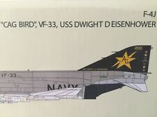 Air Commander. 1:72  AC1011   F-4J  Phantom  VF-33  USS Dwight Eisenhower