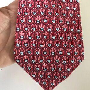 Hermes Silk Tie Necktie 7585 SA