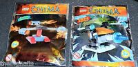 LEGO CHIMA 2 Limited Edition Weapons Packs. new sealed