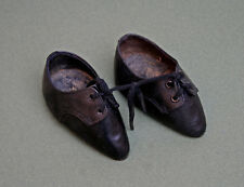 ANTIQUE CHINESE HAND MADE LEATHER SHOES BOUND FEET LOTUS