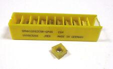 10 Wendeplatten inserts SPHX 1205ZCSR GP4S CG4 von Kennametal Neu H14406