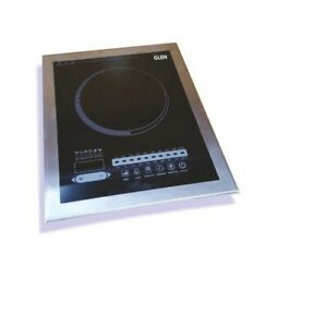Glen Stainless Steel Built-in Induction Cooker 3080 Touch  With Universal Plug
