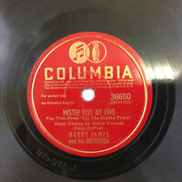 """Harry James Mister Five by Five Columbia 36650 78 rpm 10"""" VG 1942"""