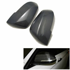 2X Carbon Fiber Rear View Side Wing Mirror Covers Caps for BWM E87 2008-2013