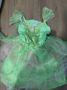 Disney Store Fairies Tinkerbell Fancy Dress Up Costume Age 7-8 Years