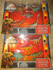 Jurassic World LEGACY COLLECTION MINI DINOS 5 PACKS SET 10 ATTACK ACTION