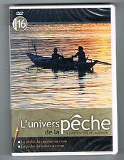 L'UNIVERS DE LA PÊCHE N° 16 - CARPEAU / VAIRON - DVD NEUF NEW NEU