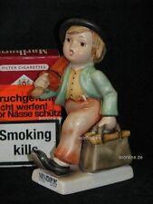 "+. Goebel Hummel 11 ""Wanderbub"", merry wanderer, Krone limited Edition"