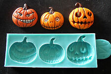 Silicone Mould HALLOWEEN PUMPKINS BY DOMOZETOV ART Sugarcraft Cake Decorating