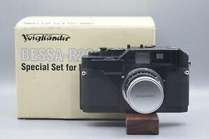 Voigtländer Bessa R2S NHS Special Edition Rangefinder Film Camera Boxed
