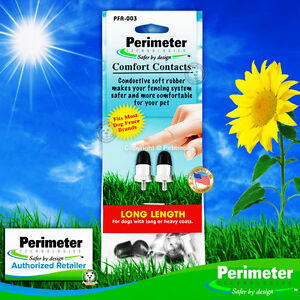 """Perimeter Comfort Contacts 3/4"""" Long Rubber Tipped Contact Points Prongs Probes"""