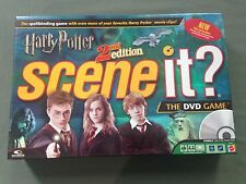 Mattel Games Harry Potter Scene It? 2nd Edition THE DVD Game Complete Used