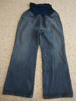 Women's MOTHERHOOD MATERNITY boot cut jeans, PM  M