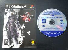 JEU Sony PLAYSTATION 2 PS2 : SHINOBIDO La Voie Du Ninja (envoi suivi, PAL)