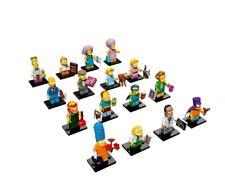 Lego 71009 - Simpsons Series 2 Minifigure full Set of 16 minifigures New