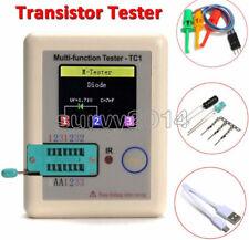 Transistor Tester TFT Diode Triode Capacitance Meter LCR-T6/TC1 NPN PNP MOSFET