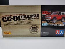 Tamiya 1/10 Ford Bronco 1973 CC01 RC Kit 58469 - Brand