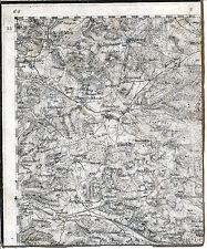 Neukirchen Holnstein Eschenfelden 1910 orig. Teilkarte/Ln. TK50 Röckenricht
