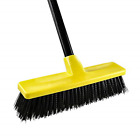 Push Broom Outdoor Indoor Concrete Broom Rough Surface with Long Handle Stiff