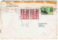 Sobre circulado España-Austria 1977