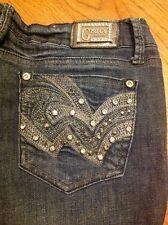 Grace Jeans USA Crystal Women's Denim Jeans size 9/28 #1