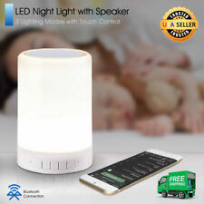LED Night Light for Kids with Speaker and Touch Control