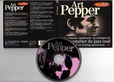 "ART PEPPER ""Les Incontournables Warner Jazz"" (CD Digipack) 1996"
