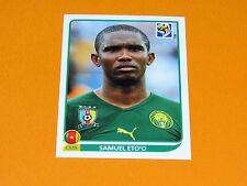 408 ETO'O CAMEROUN PANINI FOOTBALL FIFA WORLD CUP 2010  COUPE DU MONDE