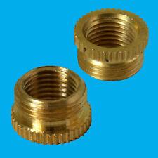 2.5x1.3cm Stecker Zu 10mm Buchse Messing Lampenfassung M10 Faden Reducer Adapter